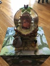 Disney Store Snow Globe - The Jungle Book 2014 Bare Necessities Music Mint