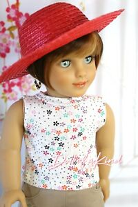 American Girl doll PIXIE BROWN Premium wig Fits most 18''dolls Blythe