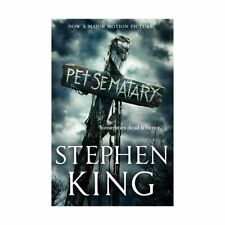 Kids Pet Sematary by Stephen King Book's Now A Major Motion Picture Xmas Gift