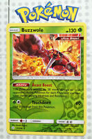 Pokemon card Buzzwole 21/236 HOLO Basic RARE Grass Mint Cosmic Eclipse