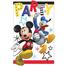 Mickey On The Go Invitation cards + Envelop Boys Birthday Party Supplies ~ (8ct)