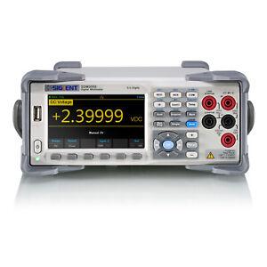 Siglent SDM3055 Tisch-Multimeter (5 1/2 Stellen, ±0,015% Grundgenauigkeit)