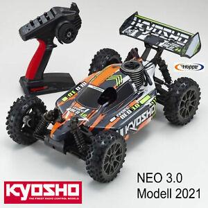 Kyosho Inferno NEO 3.0 4WD Buggy  2.4GHz Orange RTR 1:8 K.33012T3B 2021