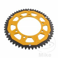 ZF Dual Gold Rear Sprocket (53 Teeth) Gilera SMT 50 Supermotard 2003-2004