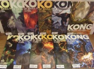 KONG OF SKULL ISLAND 1-12 BOOM COMIC SET COMPLETE ASMUS MAGNO SIMPSON 2016 NM