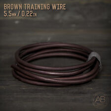 American Bonsai Brown Aluminum Training Wire - 5.5mm - 100 grams - 4ft - 100g