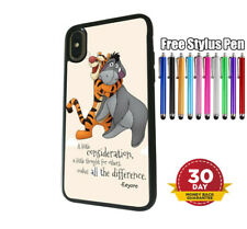 iPhone Samsung Huawei Silicone Cover Case Disney Winnie the Pooh Tigger Eeyore
