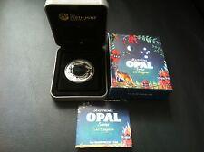 2013 $1 Australian Opal Series The Kangaroo 1oz Silver Proof Coin