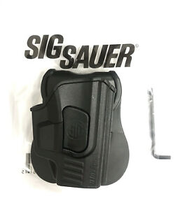 Sig Sauer P365 Right Polymer Holster Pistol,OWB Polymer Holster withPaddle