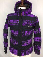 Grenade Fatigue Project The Misfits Purple Black Mens Snowboard Jacket Coat sz S