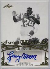 2013 Leaf Sports Heroes Gold Auto #BA-LM1 2/5!! Penn State Colts