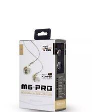 m6 Earbuds Musician In-Ear Monitors headsets Wired Earphones. huge sale
