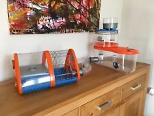 2x Rotastak Hamster Cages Plus Extras