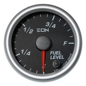 EON Fuel Gauge Black Face