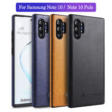For Samsung Galaxy Note 10/10 Plus Shockproof Leather Ultra Slim TPU Case Cover