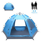 Waterproof 3-4 Person Outdoor Instant Pop Up Camping Tent Beach Hiking Canopy