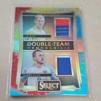 Joe Hart,Harry Kane Panini Select Soccer Card England NM Double Jersey 22/30