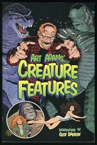 Art Adams Creature Features Trade Paperback TPB Godzilla Creature Black Lagoon