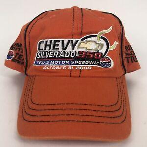 Texas Motor Speedway Truck Or Treat Snapback Hat Nascar 2008 Silverado 350