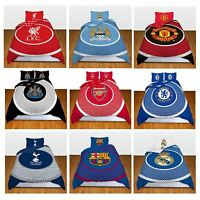 Single Double FC Duvet Cover Bedding Set Official Bullseye Football Club Designs