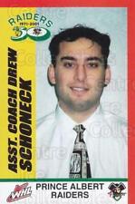 2001-02 Prince Albert Raiders #24 Drew Schoneck