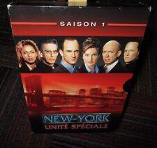 NEW YORK UNITE SPECIALE THE COMPLETE FIRST SAISON 6-DISC DVD SET, REGION 2, EUC