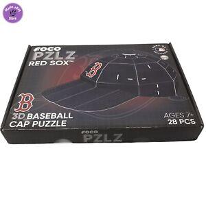 MLB Baseball PZLZ  3D Puzzle Boston Red Socks Helmet 28pcs