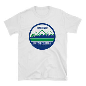 Vancouver Shirt Van City - Blue and White Shirt - Canucks