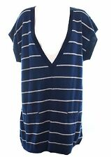 Women's Striped V-Neck Jumpers and Cardigans