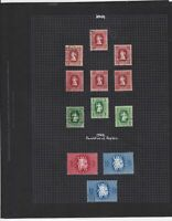 hungary 1944-50 stamps page ref 17645