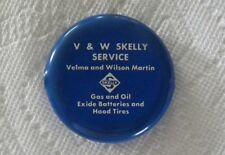 Vintage Martin SKELLY Gas & Oil,Hood Tires,BLAIRSTOWN,Iowa IA Squeeze Coin Purse