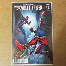 BEN RILEY SCARLET SPIDER #1 J SCOTT CAMPBELL VARIANT COVER SIGNED Comic + COA