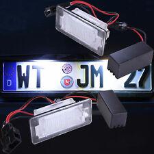 LED Kennzeichenbeleuchtung für Audi A4 Limousine + Avant | Typ 8W B9 [7302]
