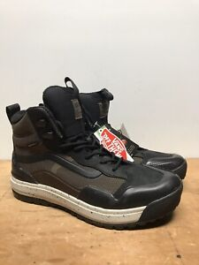 New Mens 10.5/10 Vans Ultrarange Exo Hi Brown/Black Goretex Boots SEE DETAILS