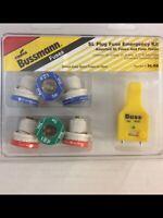 Cooper Bussmann ~ Type S ~ SL Plug Fuse Emergency Kit