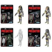 Funko Super 7 - Predator ReAction Figures - SET OF 4 - New Action Figures