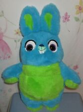 Disney Toy Story 4 Bunny Rabbit Plush Green Blue Just Play 12""