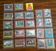 Star Wars Return of the Jedi 1983 Trading Card lot