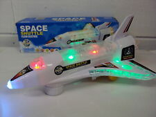 Space Shuttle Rocket Plane with Lights and Sound – Bump N Go Action - Age 3+