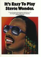 Its Easy To Play Stevie Wonder Learn Pop BEGINNER Piano Guitar PVG Music Book