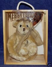 "MERRYTHOUGHT ""STOWAWAY""  MOHAIR BEAR MADE IN ENGLAND"