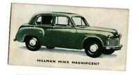 Kelloggs Cornflakes Cards Cars: 14, Hillman Minx Magnificent
