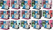 For LG Rebel 4 LML212VL / LML211BL Wallet Pouch Phone Case Cover