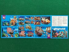 (Q52) CATALOGO PLAYMOBIL 2004 CASTELLO NAVE PIRATA Prospekt Catalogue KATALOG