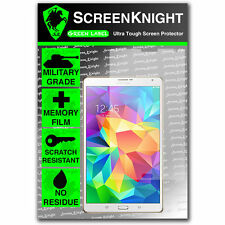 """Screenknight Samsung Galaxy Tab S 8.4 """"Protector De Pantalla Invisible Grado Militar"""