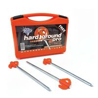 Blue Diamond Tent Awning Camping Heavy Duty Hard Ground ORANGE Pegs Pro- 20 Pack