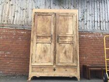 French Armoire/Vintage wardrobe storage cabinet/Vintage French cabinet/storage
