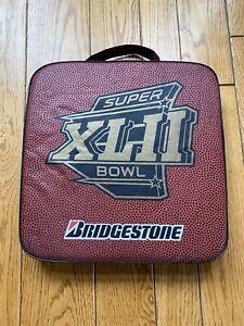 *MINT* SUPER BOWL 42 (XLII) SEAT CUSHION New York Giants v New England Patriots