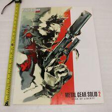 Metal Gear Solid 2 Sons Of Liberty Sony PS2 Gioco Raro Magazine Estraibile