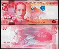 PHILIPPINES 50 PESOS 2017 P 207 UNC